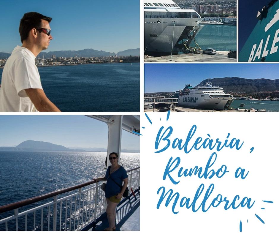 portada, Baleària Rumbo a Mallorca - Los viajes de margalliver